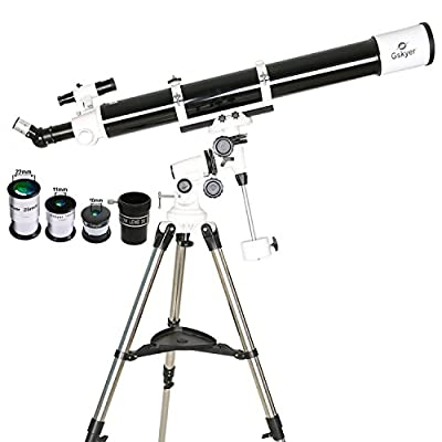 Gskyer Telescope, EQ901000 Astronomy Telescope, German Technology Refractor Telescope by Gskyer