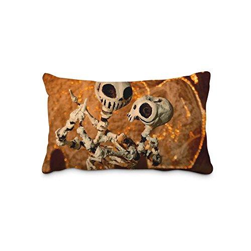 Festival Halloween Pillow Case Cover Queen Standard Size 2017 Pillow Protector 16x24inch(Twin Sides)With Hidden Zipper]()