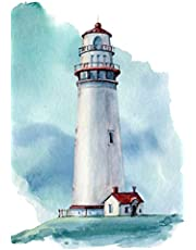 Notebook: for lighthouse lover