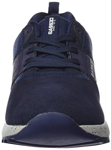 Blue bass3d Black Navy Trainers Men's 040150 qqITO