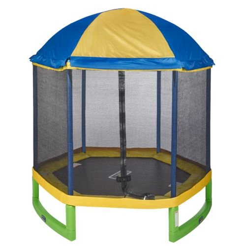 Jump Zone 7 ft My First Trampoline with Tent Top Combo Review