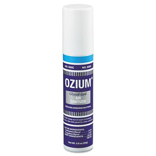 TimeMist Handheld Ozium 500 Air Sanitizer, Original, 0.8 oz, Aerosol - 12 aerosol cans of glycolized air sanitizer. (Glycolized Air Sanitizer)