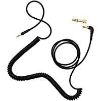 AIAIAI TMA-2 Modular Headphone Cable C02 - Coiled w/adaptor - black - 4mm - 1.5m