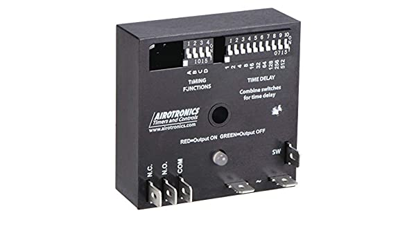AIROTRONICS MC3003631H Encapsulated Timer Relay,10A,Relay,SPDT
