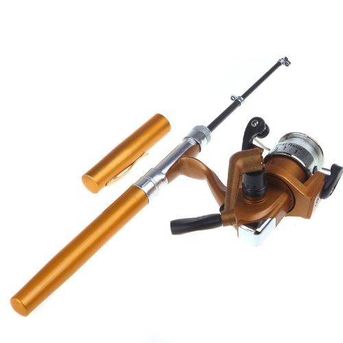 Lowest price docooler mini aluminum saltwater fishing for Amazon fishing equipment