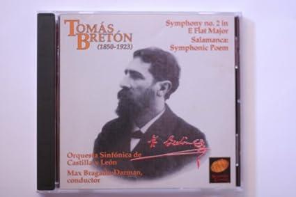 Amazon.com: Tomas Breton Symphony No 2 in E flat, Salamanca ...