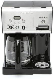 12 CUP programable cafetera eléctrica con agua caliente, pantalla LCD y Reloj digital: Amazon.es: Hogar
