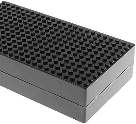MagiDeal 19x10cm Plastic Building Blocks Storage Box Bricks Case Green