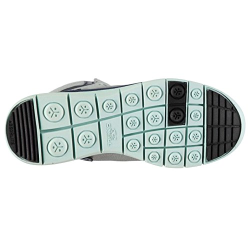 94043affb8d Oneill Mujer Zephyr Melee Botas Nieve Invierno Cordones Textura Paneles Zapatos  Gris claro 4 (37
