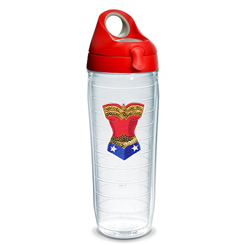 tervis-warner-brothers-wonder-woman-sequins-emblem-water-bottle-with-red-wb-lid-24oz-clear