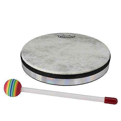(Remo Lynn Kleiner Hand Drum with Lollipop Mallet (8in))