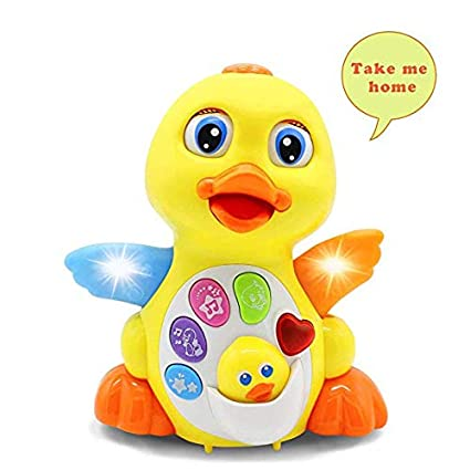 homofy baby toys 18 months up lovely dancing yellow duck early eq educationmusic learning - Christmas Toys For Toddlers