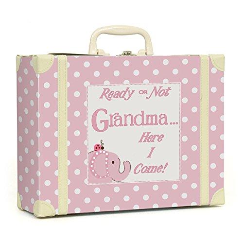 Child to Cherish Polka Dot Going to Grandma's Keepsake, Pink 6505PK