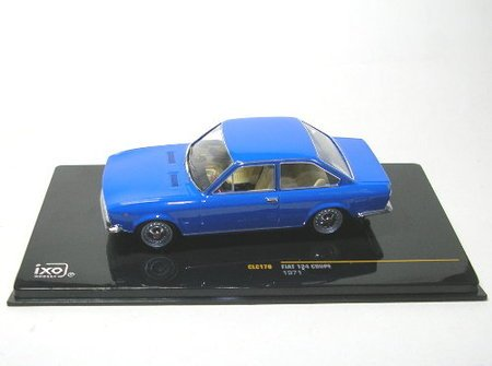 Fiat 124 Coupe 1971 - 1/43rd Scale IXO Model