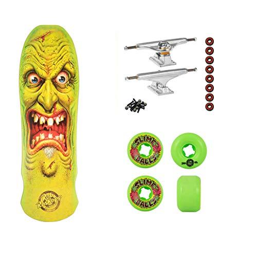 Santa Cruz Skateboard Complete Roskopp Face Edmiston - Premium Independent (Santa Cruz Rob Face)