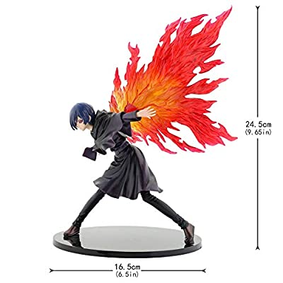 Raleighsee Tokyo Ghoul Anime Touka Kirishima 26cm Boxed Doll Model PVC Figure / Vinyl Figure / Action Figure / Collectible: Toys & Games