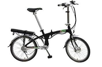 Beixo bicicleta eléctrica plegable con cardan - Electra Black