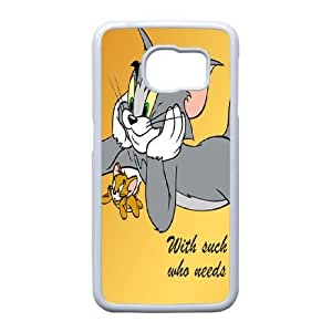 Cartoon Tom and Jerry for Samsung Galaxy S6 Edge Phone Case Cover 78FF739990