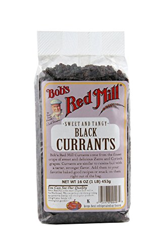 Bob's Red Mill Black Currants, 16 Ounce Packages (Pack of