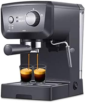 Cafetera Espresso 15 Bares, Cafetera Cappuccino y Latte 1050W Boquilla de Espuma de Leche Profesional 1.25 L Tanque de Agua Calentamiento Rápido: Amazon.es: Hogar