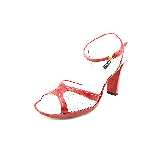 Claudia Ciuti Valentina Women US 9.5 Red Sandals ()