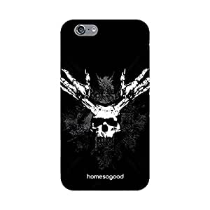 HomeSoGood Highway To Hell Black 3D Mobile Case For iPhone 6 (Back Cover)