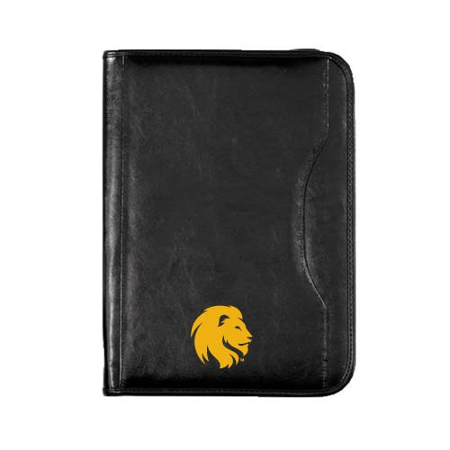 Texas A&M Commerce Wall Street Zippered Padfolio 'Official Logo'