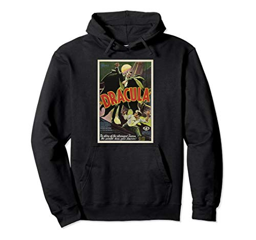 Dracula Monster Vintage Movie Poster Halloween Hoodie - Production Poly Poster