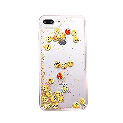 iphone 8 plus silicone phone case empji