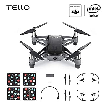 RONSHIN dji Tello EDU Boost Combo Mini Drone Realiza Flying Stunts ...