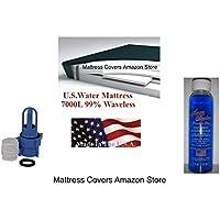 California King 99% Waveless Hardside Waterbed Mattress