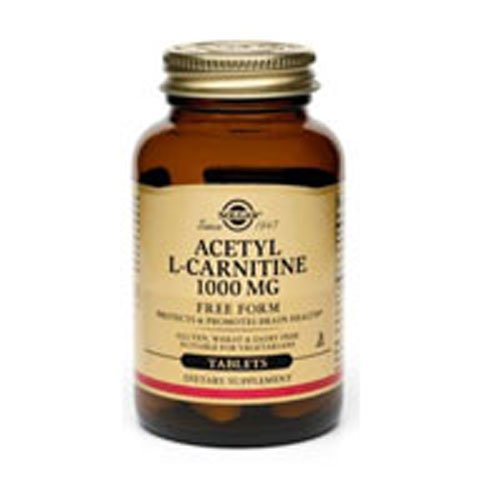 Acetyl L-Carnitine 1000mg 30 Vcaps 3-Pack