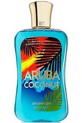 Bath & Body Works Signature Collection Shower Gel Aruba Coconut (10 Fl Oz / 235mL)