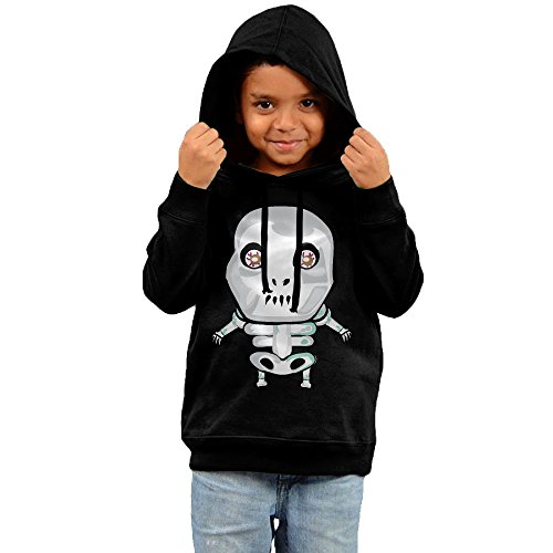 Darren Skull Novelty Boys Pullover Hoodie Sweatshirt (Little Kid/Big Kid)-gift For Kid T-shirt 2 Toddler