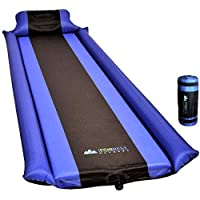 IFORREST Sleeping Pad with Armrest & Pillow - Ultra...