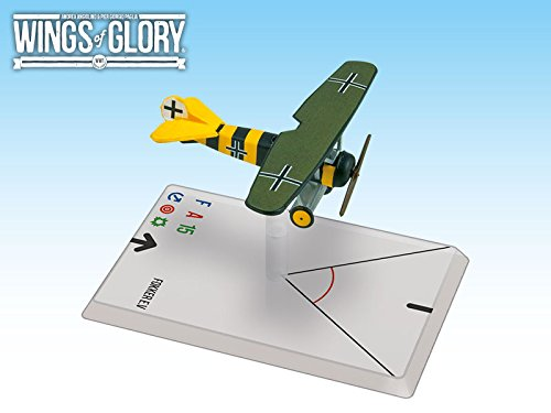Fokker Monoplane (Wings of Glory Airplane Pack - Fokker E.v (Osterkamp) - Figure)