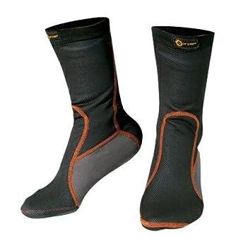 A-pro Chaussettes Thermique Anti Froid Respirant Unisexe Hivernal Moto Motard noir XL 5180000074678
