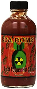 Da Bomb Ghost Pepper Hot Sauce, 4.0 Ounce from Da Bomb