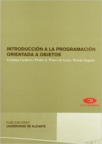 Introducción a la programación orientada a objetos