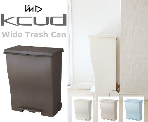 I'mD(アイムディー) kcud(クード) ワイドペダルペール 39L 【オールホワイト】 B00HWMIRJK 1台|【オールホワイト】 【オールホワイト】 1台