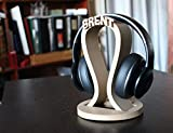 Custom headphone stand, Gamer gifts, DJ Gift, Game tag, headphone holder, Husband Gift, Dad Gift, Personalized men gift, headphones, Meow3D