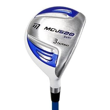 Masters - Madera 3 de golf, color blanco roto, talla UK: 34 ...