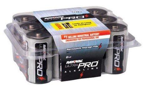 Rayovac Ultrapro D Alkaline Batteries-12 Pk