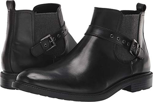 Kenneth Cole Unlisted Men's Roll Boot Black 10 D US