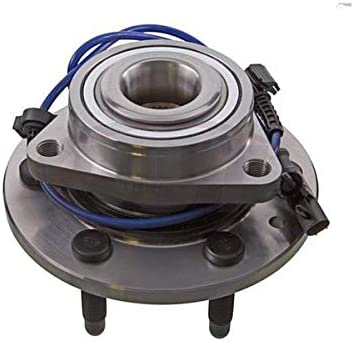 2000 For Chevrolet Silverado 1500 LT Front Wheel Bearing and Hub Assembly x 1 Note: 6 Stud Hub; RWD