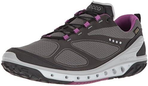ECCO Women's Biom Venture Gore-Tex Trail Runner|,| Black/Titanium/Orchid|,| 10-10.5