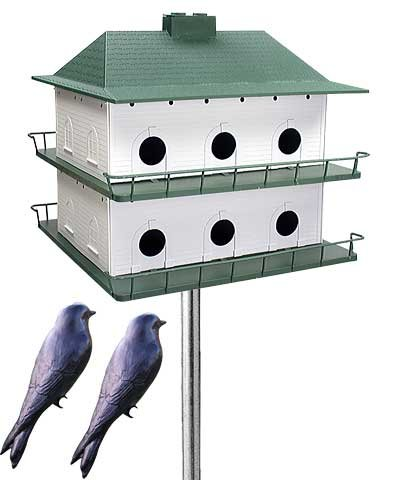 Heath 12-Room Two-Story Purple Martin House Package 12 Room Purple Martin House
