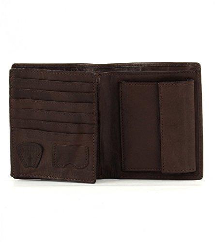 Strellson Upminster Monedero piel 10 cm cognac Dark Brown (Marrón)
