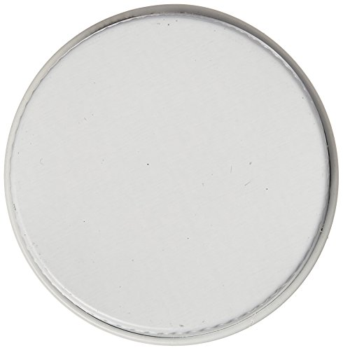 HomeBrewStuff White Metal Growler Caps 38mm Fits Most 1/2 and 1 Gallon Jugs - Growlers Cheap