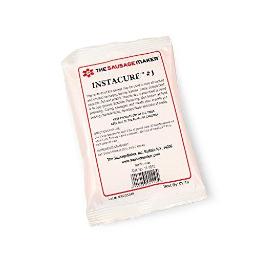 Insta Cure (Prague Powder) #1, 4 oz. Curing Salt for Curing Meats